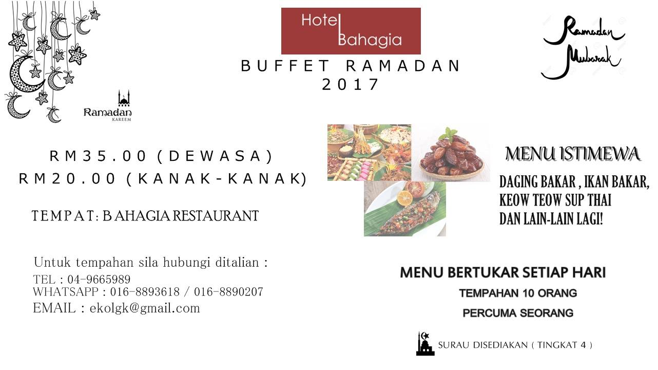 Buffet Ramadhan Bahagia Hotel Langkawi
