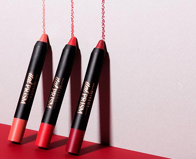 (K-Beauty) Ital Prism : Les Lip Pencil à l'italienne signés Missha !