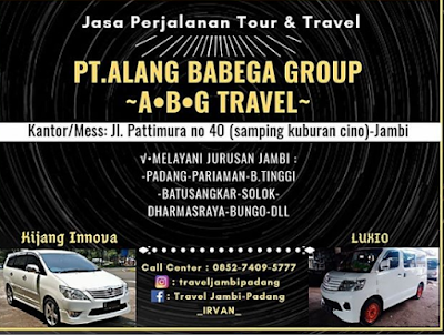 Alamat Travel Jambi