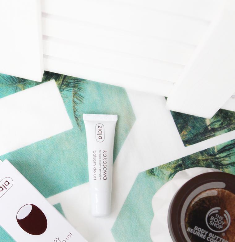 Kokosowe kosmetyki - Ziaja Kokosowy balsam do ust