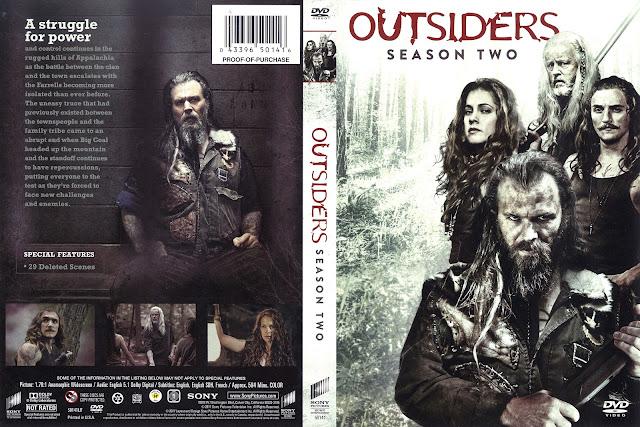 Outsiders Season 2 DVD Cover