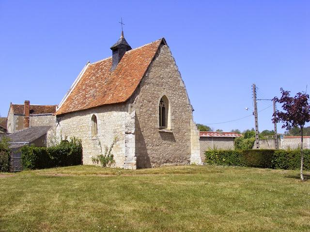 The Chapelle de Tous les Saints, Indre et Loire, France. Photographed by Susan Walter. Tour the Loire Valley with a classic car and a private guide.