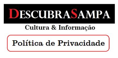Política de Privacidade - Descubra Sampa
