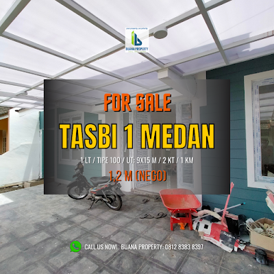 Video Rumah Cantik Mungil Murah 1 lantai di Tasbi 1 Taman Setiabudi Indah 1 Ringroad Medan - Ada Pintu Samping