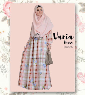 Gamis Jasmine Vania Dress 02