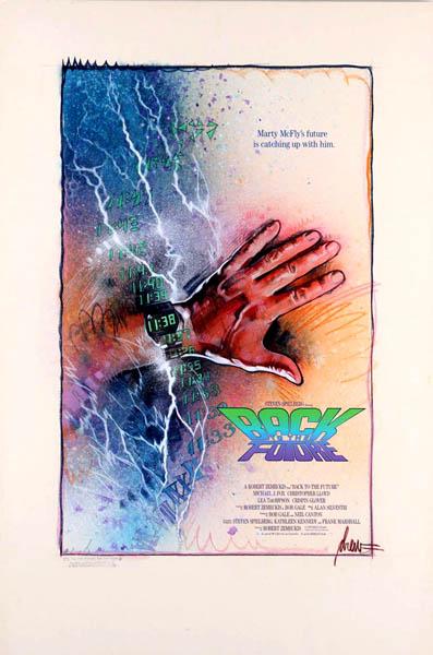Regreso al futuro Poster Drew Struzan 7