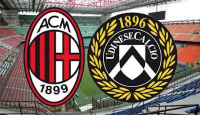 مشاهدة مباراة ميلان ضد اودينيزي 1-11-2020 بث مباشر في الدوري الايطالي