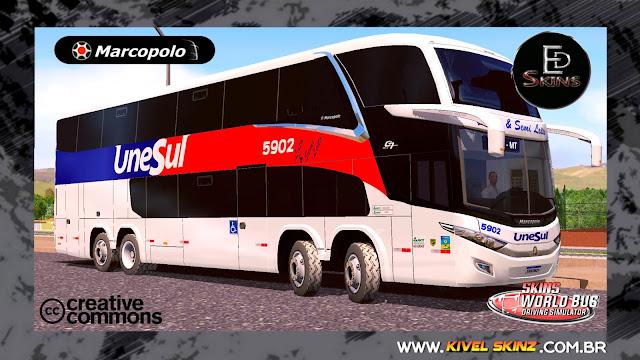 PARADISO G7 1800 DD 8X2 - VIAÇÃO UNESUL