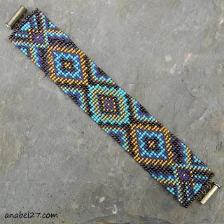 широкие браслеты купить в интернет магазине авторских украшений из бисера ру