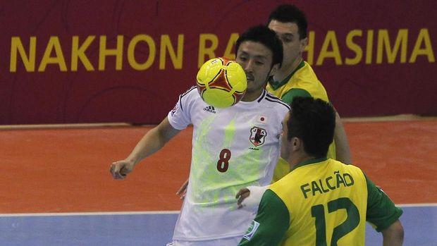 Kensuke Takahashi Mencetak Sejarah Timnas Futsal Indonesia 2019