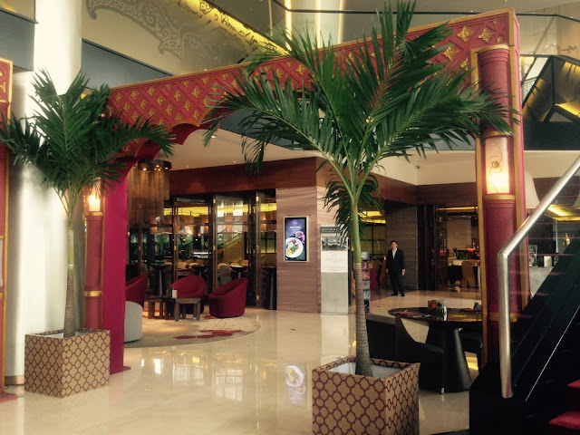 Dekorasi Ramadhan di Hotel Merah Maroon