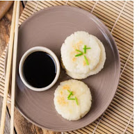 Japanese Pan-fried Rice Cake