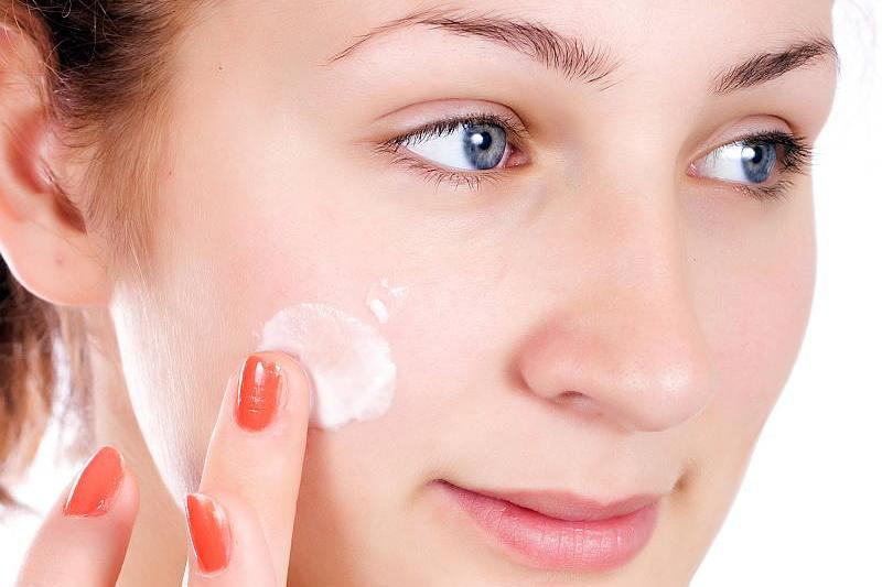facial skin, dry facial skin, healing dry skin