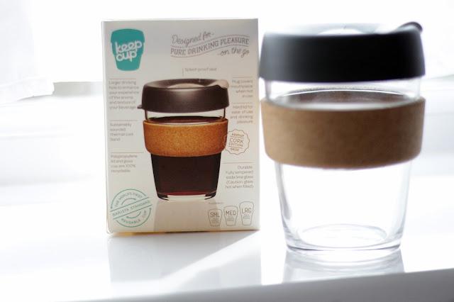 reusable environmentally friendly coffee cup