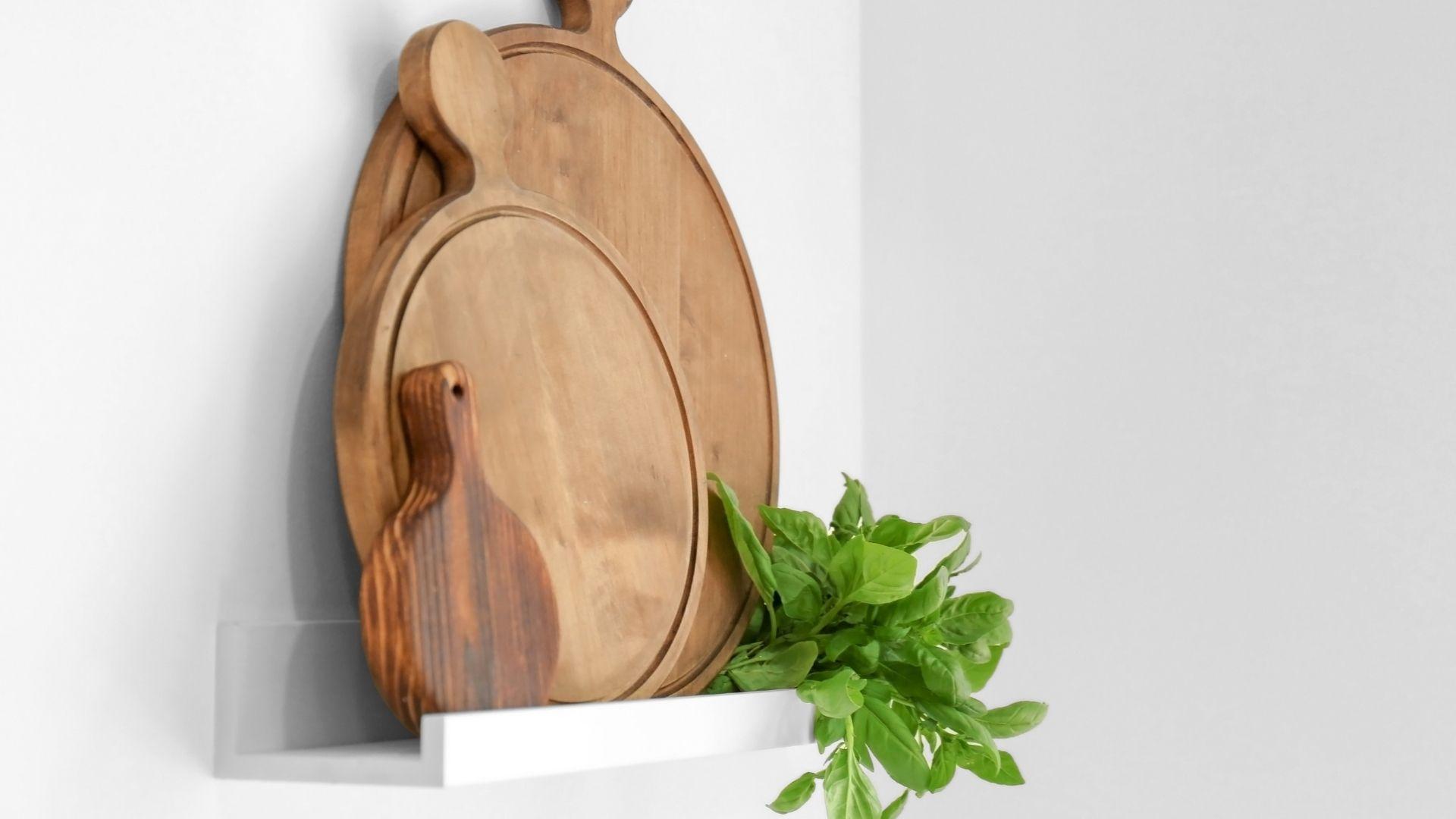 deski drewniane na półki
