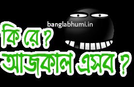 Ajkal Esob Hocche Bengali Funny Comment Sticker