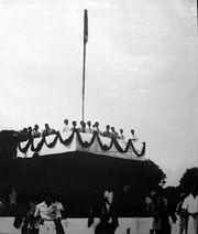 """2-9-1945: CHỦ TỊCH HỒ CHÍ MINH ĐỌC BẢN """"TUYÊN NGÔN ĐỘC LẬP"""""""