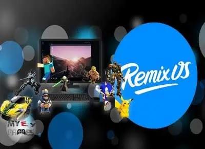 محاكي Remix OS