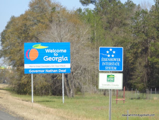 Entering Georgia from Florida