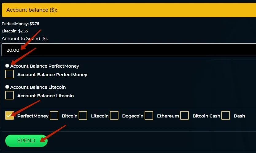 Создание депозита в SmartCoin 2