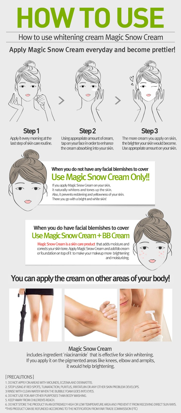 April Skin Magic Snow Cream Review Beauty Blogger Indonesia