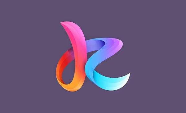 Trend Desain Logo Design 2015 - Gradient mesh logo