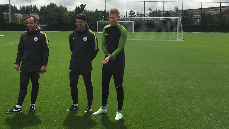 3c51668ba4aa De Bruyne, who only switched to the Nike Magista line this season, was  spotted wearing the predominantly silver soccer boots at a play-test of the  ...