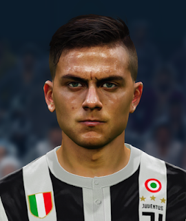 PES 2017 Faces Paulo Dybala by Alief