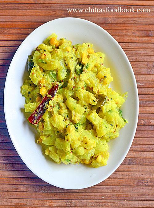 Southekayi palya recipe / Cucumber curry / Vellarikai poriyal recipe