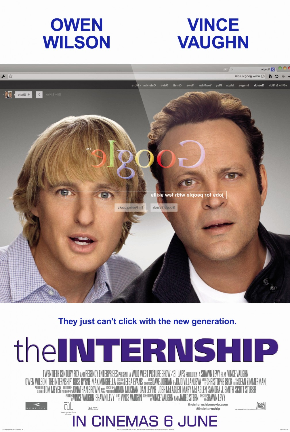 Nonton Film The Internship (2013)