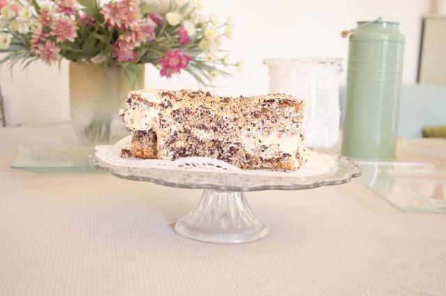 IMG 2762 - עוגת אגוזים וקרם מוקה משגעת לפסח