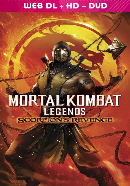 مشاهدة فيلم Mortal Kombat Legends Scorpions Revenge 2020 مترجم