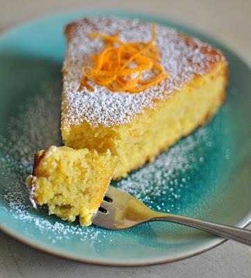 Orange Cake Flourless Recipe