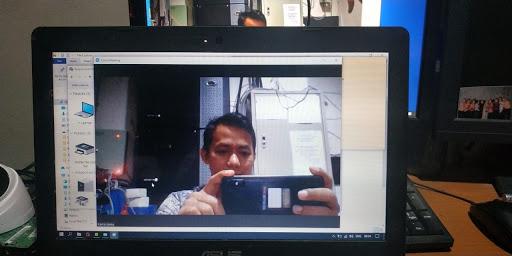 Hasil Camera Laptop