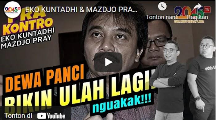 Apa Isi Video yang Bikin Roy Suryo Laporkan Eko Kuntadhi atas Dugaan Pencemaran Nama Baik?