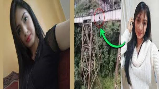 Ella es Yecenia Morales, murió tras aventarse un puente solo con el arnés puesto y confundir instrucciones de que saltara