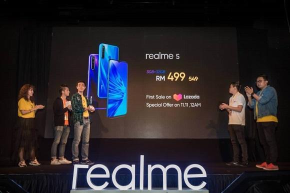 Harga jualan Realme XT