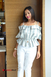 Actress Shweta Basu Prasad Latest Pictures in White Ripped Jeans 0011