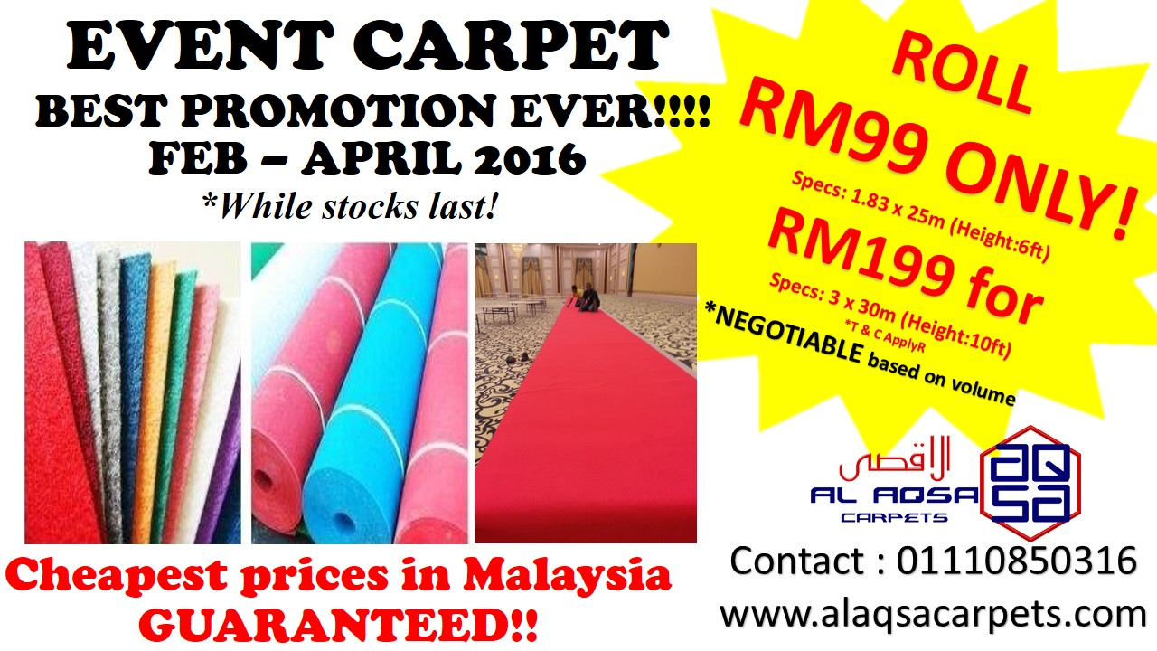 Flooring Supplier In Malaysia Event Carpet Pros