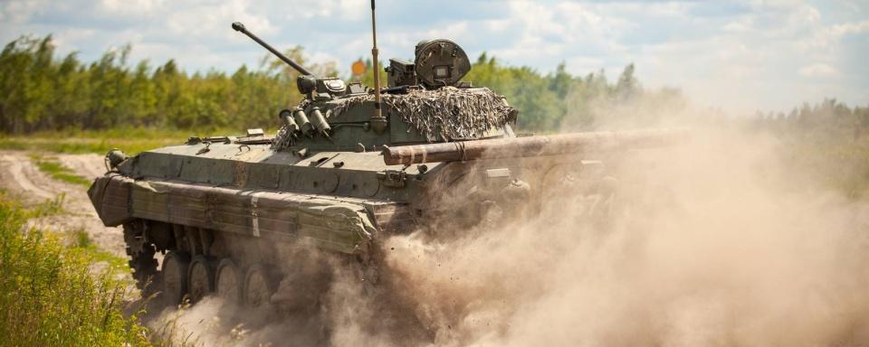В наказі Хомчака БМП-2 переплутали із БМП-1 та ще й назвали бронетранспортером