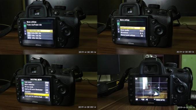 Merekam Video HD Menggunakan Nikon D3200