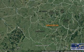GEOGRAFIA: Localização e limites de Lavras do Sul