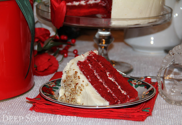 A classic southern cake that usually makes its appearance over the Christmas holidays.