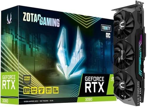 ZOTAC Gaming GeForce RTX 3080 Trinity OC 10GB GDDR6X