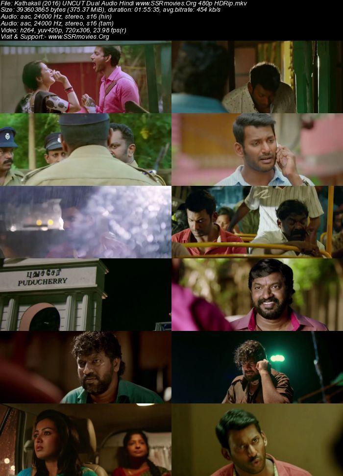 Kathakali (2016) UNCUT Dual Audio Hindi 480p HDRip