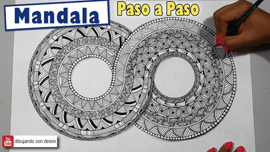 Como Dibujar Un Mandala Paso A Paso 25 Manualidades
