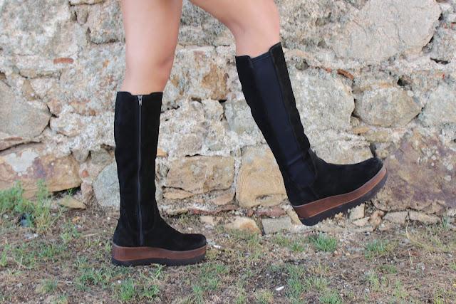 Botas altas VIVES Leather para este otoño - invierno