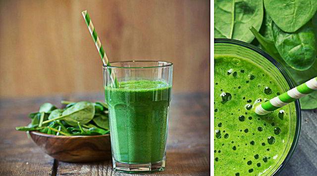 reduce grasa abdominal con este Batido verde natural en 3 dias