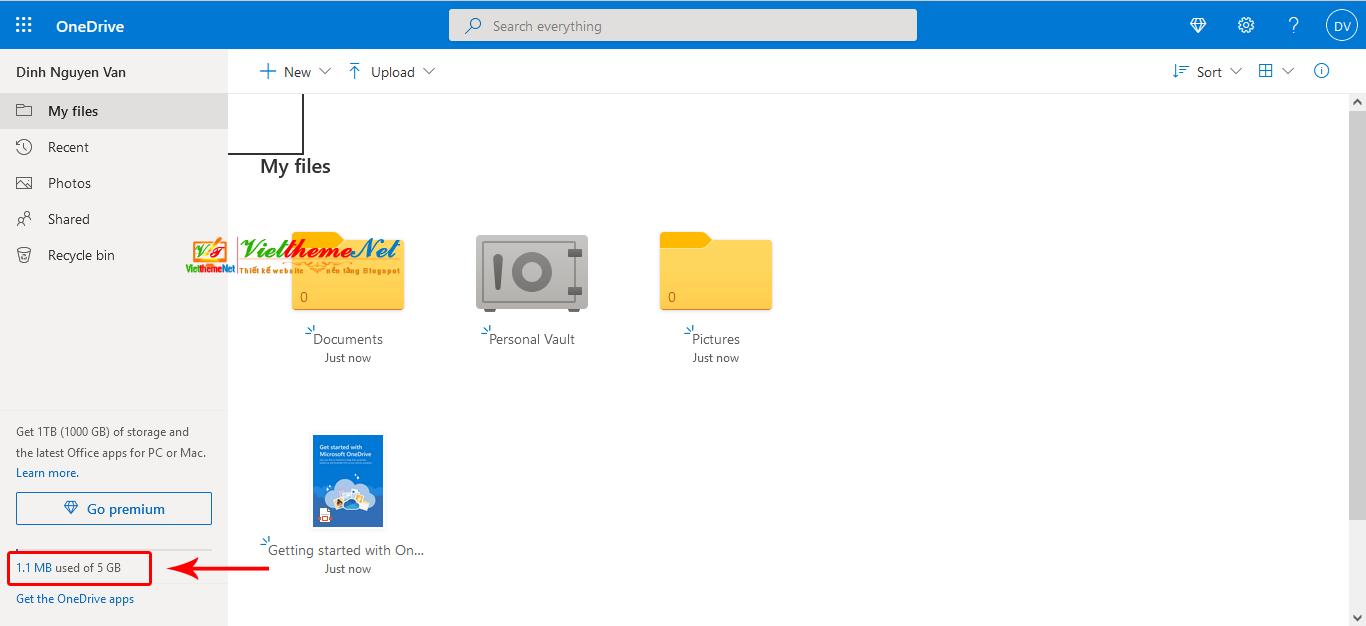 OneDrive - Giải pháp lưu trữ và đồng bộ hóa giữa máy tính và điện thoại mọi lúc, mọi nơi hoàn toàn MIỄN PHÍ