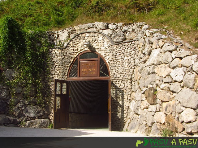 Salida del Funicular en Bulnes